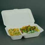 Ekologiczne pudełka obiadowe z trzciny cukrowej