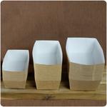 jednorazowe pojemniki na frytki i ekologiczne tacki tekturowe na frytki