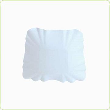 biała tacka tekturowa na oscypka