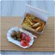 Opakowanie tekturowe Kurczak mały z nuggetsami i frytkami