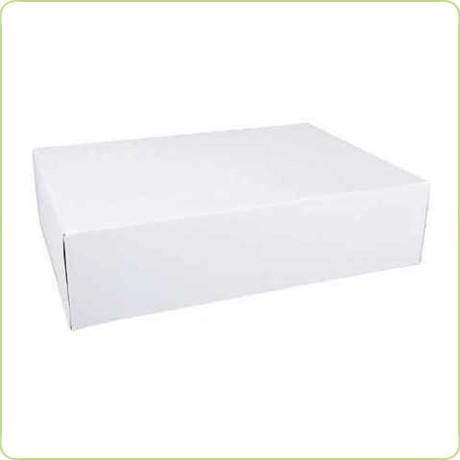 Duże prostokątne pudełko na ciasto 31x22x8cm Pure Planet