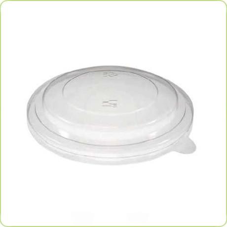 Pokrywka rPET do miski papierowej na sałatki o pojemności 1100ml Pure Planet