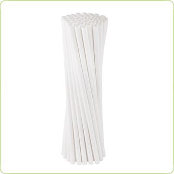 białe rurki papierowe
