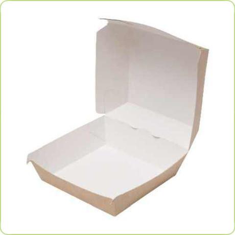 Tekturowe pudełko na małego burgera na wynos Pure Planet