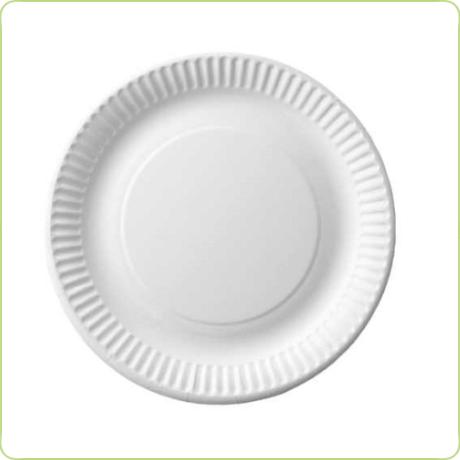 talerze jednorazowe