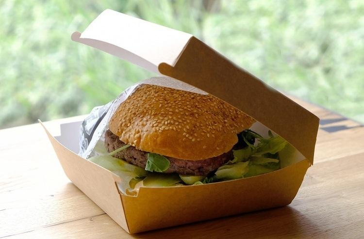 opakowanie do burgerów na wynos